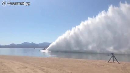 Феноменална скорост на лодки