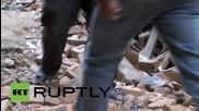 Непал: Вижте последствията от разрушителното земетресение, Катманду