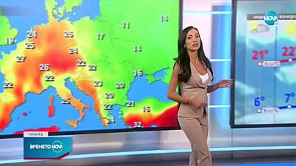 Прогноза за времето (09.05.2021 - обедна емисия)