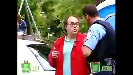 Скрита камера - полицейски автомобил