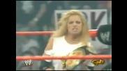 Stacy Keibler vs Trish Stratus [ Wwe Women`s Championship Match ]