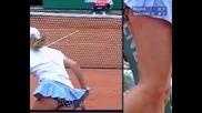 Тенис и сексапил