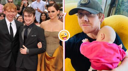 Instagram дебют: Рупърт Гринт с ударно начало в социалната мрежа - представи дъщеря си, каза името ѝ