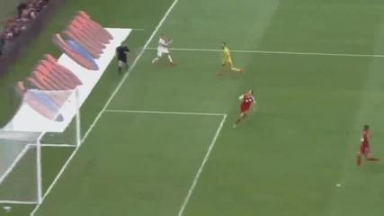 Левандовски хеттрик Полша 4:0 Грузия