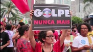 Brazil: Thousands of Workers' Party supporters back Rousseff in Rio rally