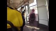 Трамвай 313 по линия 5