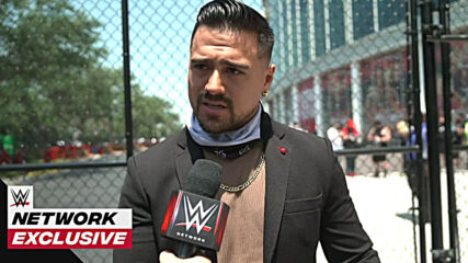 Angel Garza thinks return of fans will raise the adrenaline level: WWE Network Exclusive, April 10, 2021