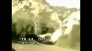 Очевидци Заснемават Разбиване На Нло !!!