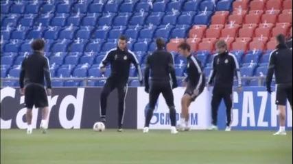 Реал Мадрид тренира в Базел