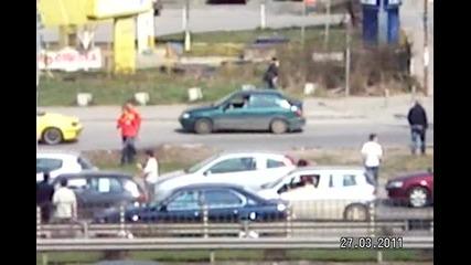 Протест - срещу високите цени на горивата 27 март 2011г.