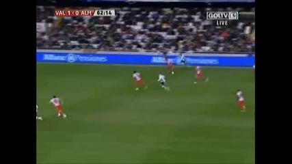Valencia vs Almeria 2 - 1
