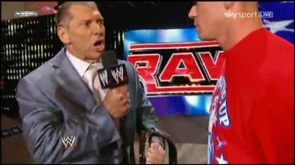 John Cena And Mcmahon Говорят