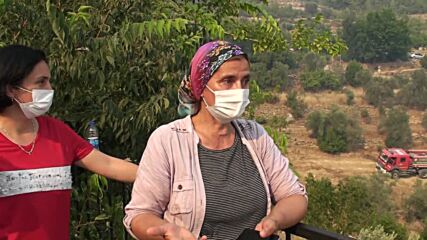 Turkey: Wildfires rage on in Antalya region