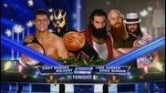 Братята Роудс с-у Люк Харпър и Ерик Роуан (по-късно в шоуто) / Разбиване 20.12.13 г.