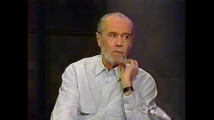 Letterman- Interview with George Carlin