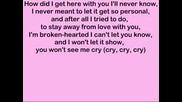 Rihanna - Cry (Lyrics)