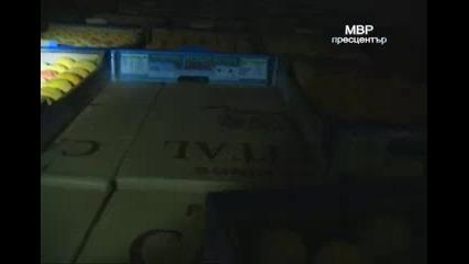 Гранични полицаи иззеха 667 500 кутии цигари