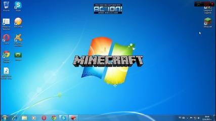 Minecraft 1.7.2 - Как да си сложим Texture Pack