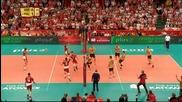 ВИДЕО: Полша направи крачка към мечтания финал, излиза срещу Бразилия