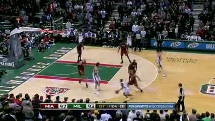 Heat @ Bucks 7.1.2011