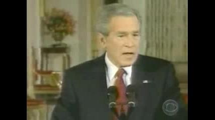 Буш - Пиян?!