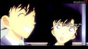 Shinichi Kudou x Ran Mouri - Almost