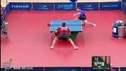 Страхотно триково отиграване на тенис на маса - Kuwait