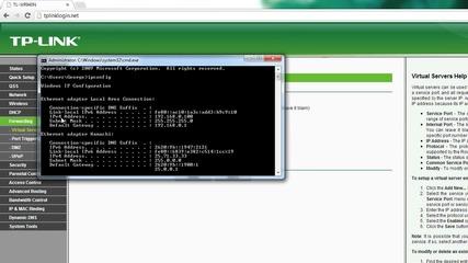 Как да отворим портовете на Tp-link рутера ни