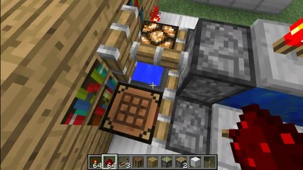 Minecraft Hidden Crafting Crafting Table(or other block) Tutorial (kak da si napravim)