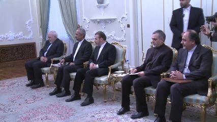 Iran: Davutoglu visits Iran to boost ties in wake of nuclear deal