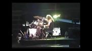 Lars vs James Drum Battle - Metallica  (Pullman 1992)