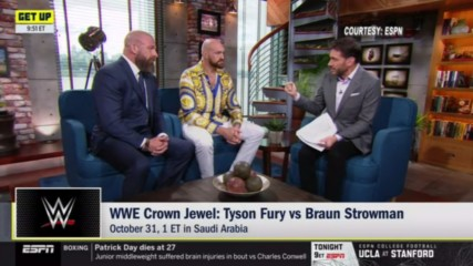 Triple H and Tyson Fury reveal what brought The Gypsy King to WWE