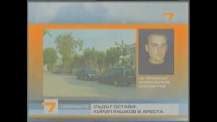 Кирил Рашков ( Цар Киро) Остава В Ареста!!! 30.09.2011