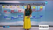 Прогноза за времето (08.07.2016 - обедна)