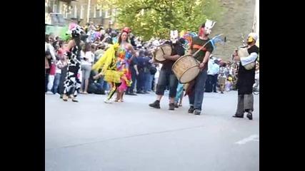 Весел карнавал в Габрово 2011г