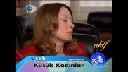 Малки жени Kucuk Kadinlar 51 и 52 реклама