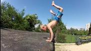 Martin Salchev - Freerun Bulgaria - 10 Year Old