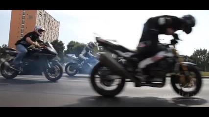 Suzuki Gsx - R - среща в града