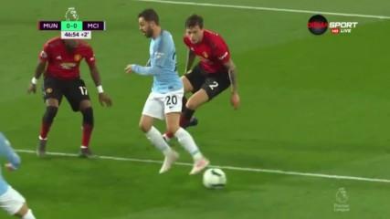 Манчестър Юнайтед - Манчестър Сити 0:2 /репортаж/