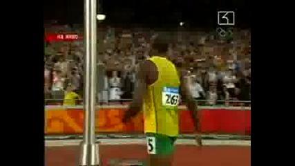 ! Юсейнт Болт с рекорд и на 200 м
