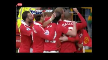 Wayne Rooney ( Man United Vs Man City )