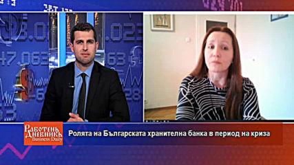 Ролята на Българската хранителна банка в период на криза