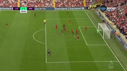 Торейра отчете с гол присъствието на Арсенал на