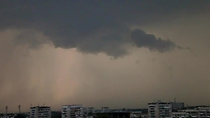 Бурята (the Storm) Time Lapse - Пловдив, 24.08.2014