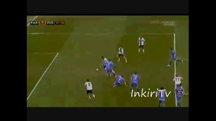 Гол на Божинов - Парма - Фиорентина 1 - 1