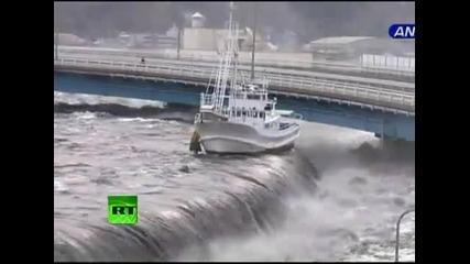 dramatichno video ot cunamito v japonija vbox7