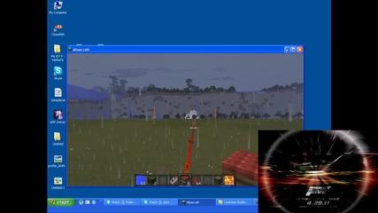 Minecraft - Малка експлозия