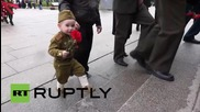 Russia: Civilian war dead of WWII honoured in St. Petersburg ahead of Victory Day