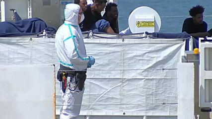 Italy: 177 migrants refused authorisation to disembark in Catania