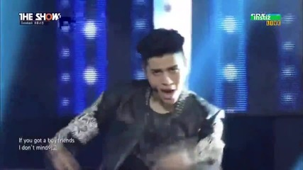 [comeback Stage] 150414 Cross Gene (크로스진) - Play With Me (나하고 놀자) The Show